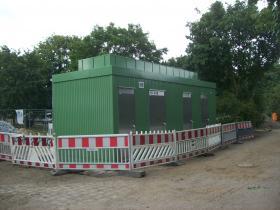 öffentlicher WC Container