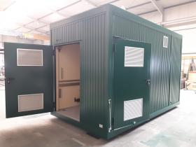 Biogas Technikcontainer